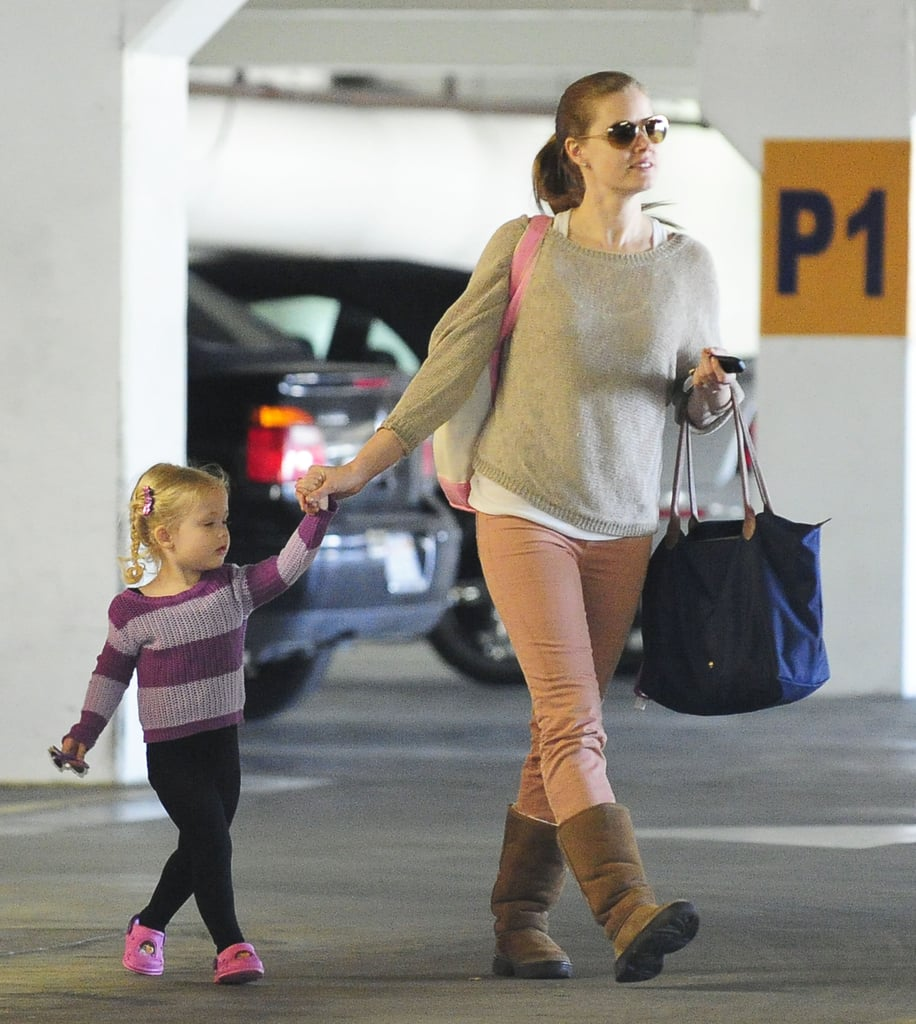 Oscar Nominee Amy Adams Breaks From Movies For Ballet With Aviana