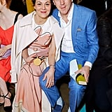 Helen McCrory and Damian Lewis at the Roksanda Show