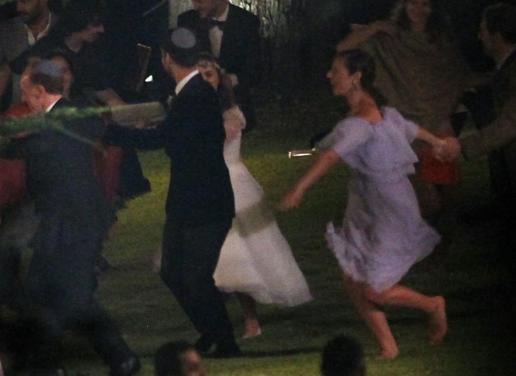Natalie Portman and Benjamin Millepied danced at their wedding.