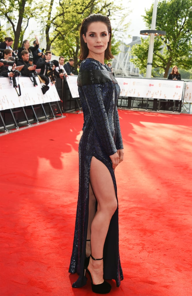 Charlotte Riley Celebrities At The Tv Bafta Awards 2017
