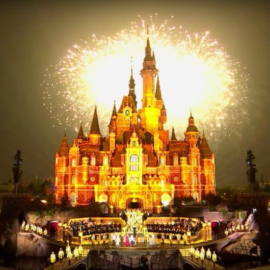 Disney Parks Castle Lighting Around the World