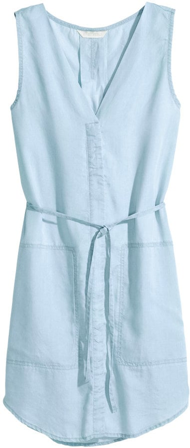 H&M denim dress ($35)