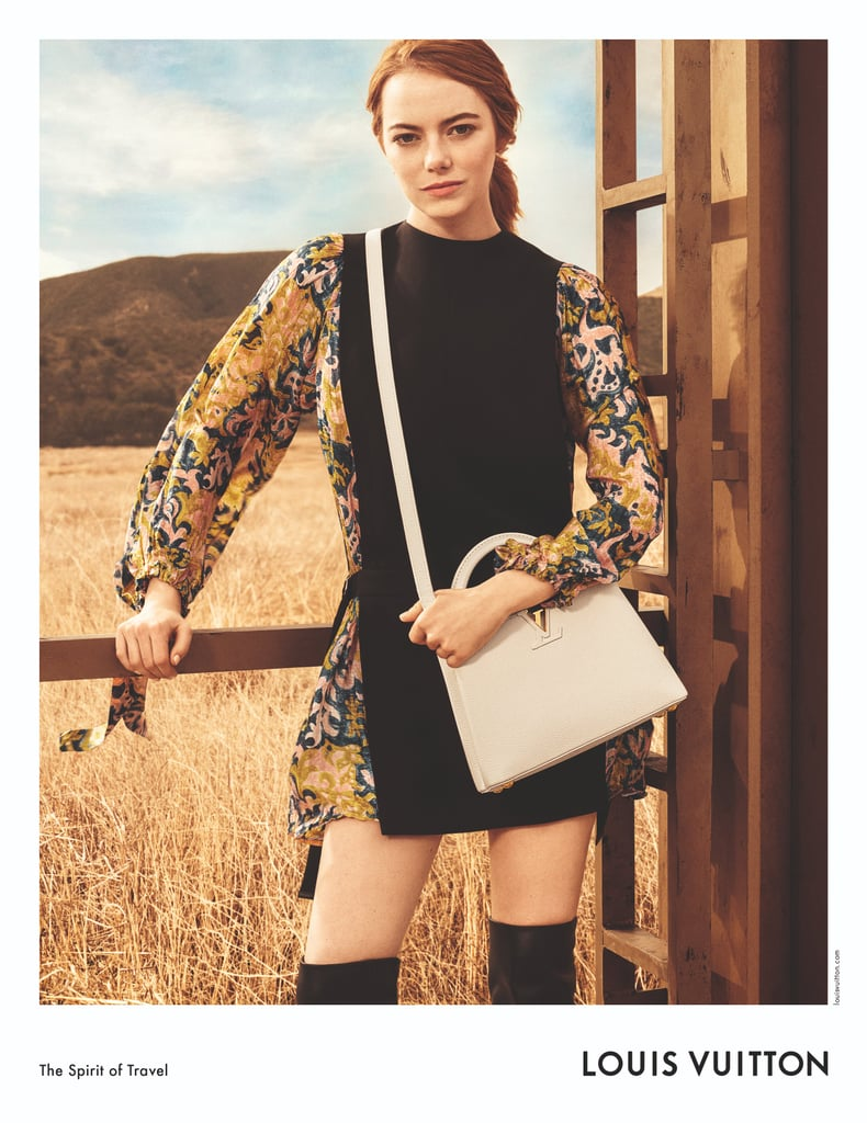 Emma Stone Wearing Louis Vuitton