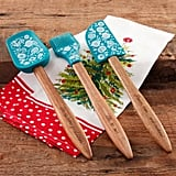 The Pioneer Woman 3-Piece Silicone Head Utensil Set with Acacia Wood Handle ($14)