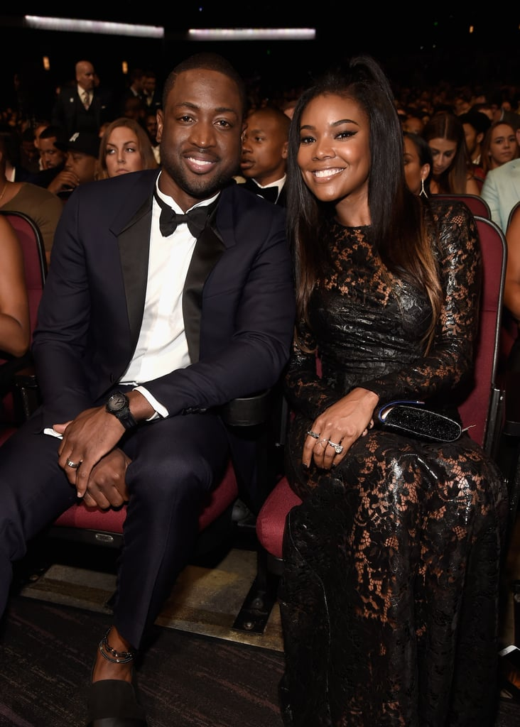 "The ESPY Awards heated up LA on Wednesday night and brought out a bunch of beautiful couples — like sexy newlyweds Ciara and Russell Wilson, for instance — and Gabrielle Union and Dwyane Wade were no exception. Not only did the two make for a picture-perfect red carpet pair, but Gabrielle also shared a few fun moments on her Instagram account. In one snap, she's about to cop a feel of Dwyane's backside, writing, ""Feelin on your boo-hoo-tee,"" and in an additional video, the couple struts down a hallway on their way to the event. Check out all their highlights below."