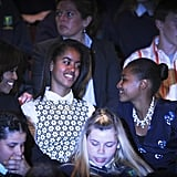 In June 2013, the Obama girls caught a Riverdance performance in Dublin.