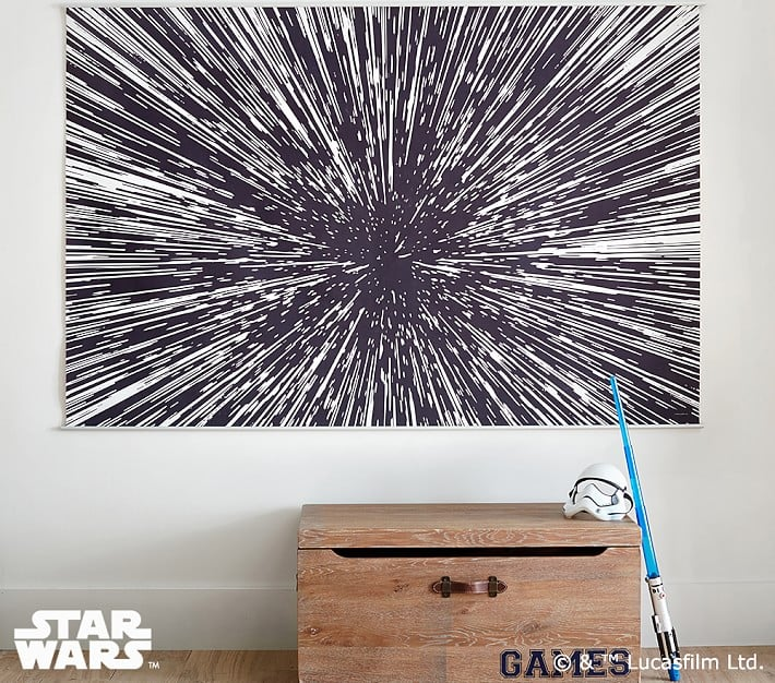 Star Wars Hyperdrive Mural
