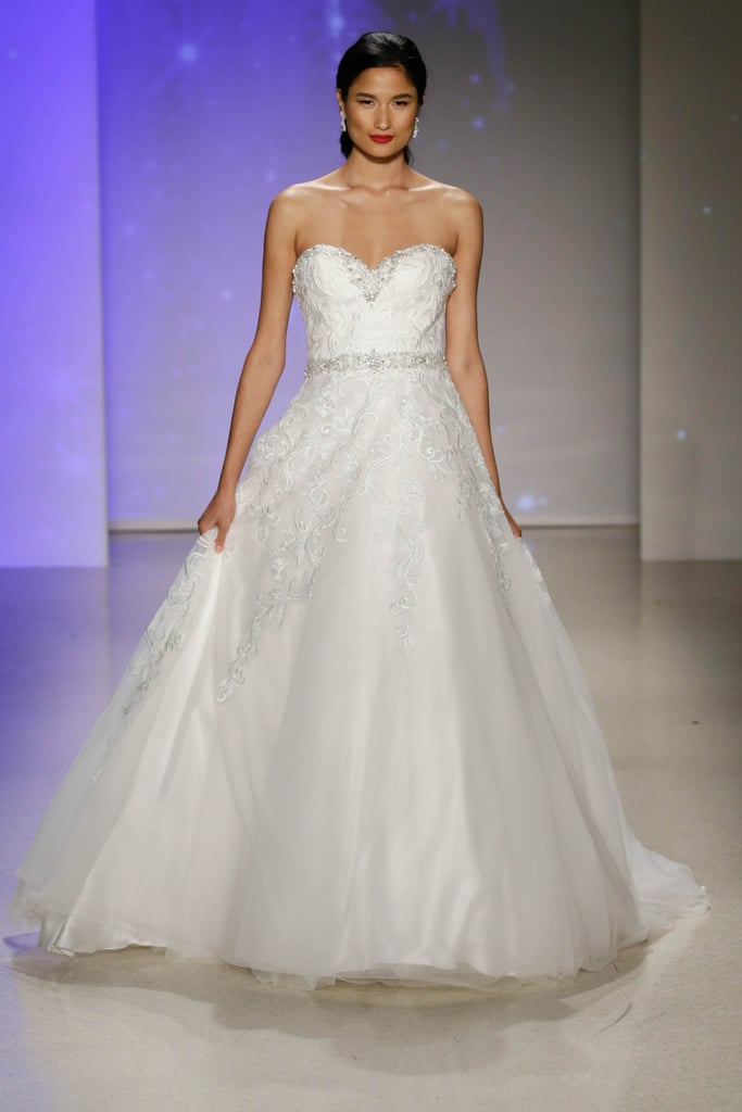 Here\'s another Snow-inspired look! | Alfred Angelo Disney Princess ...