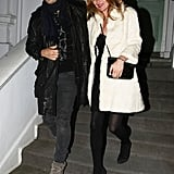 Kate Moss Parties With Jamie Hince Amid Wedding Dress Rumours