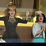 Princess Beatrice and Princess Eugenie, 2013