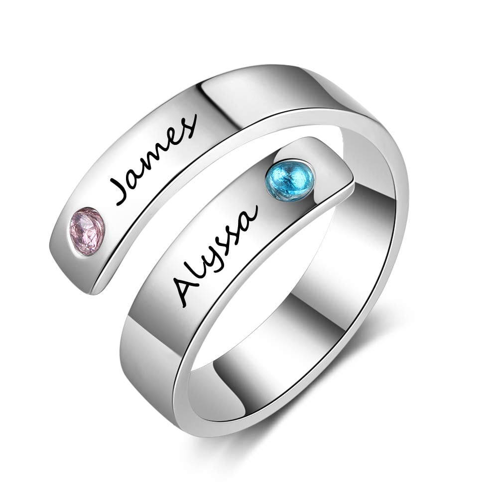 Custom Personalized Rings Last Minute Valentine S Day Gifts 2019