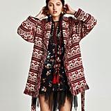 Zara Fringed Jacket