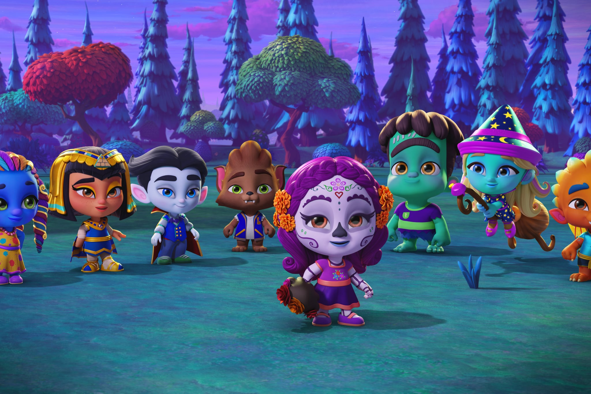 Super Monsters Back To School The New Netflix Shows Your Kids Ll Want To Queue In 2019 Including Holiday Specials Popsugar Family Photo 4