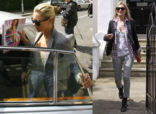 Photos of Kate Moss Out and About in London As Rumors About Her Relationship With Jamie Hince Swirl