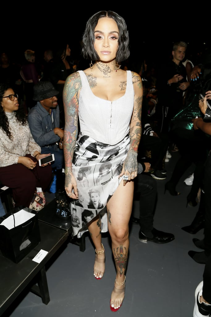 Kehlani at the Laquan Smith New York Fashion Week Show