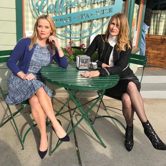 Laura Dern's Black Boots on Big Little Lies Set 2018
