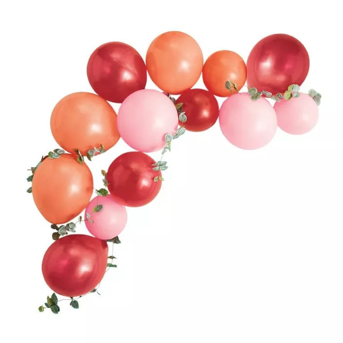 Spritz Balloon Arch With Greenery