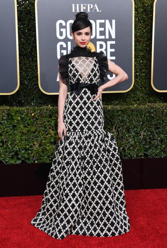 Sofia Carson at Golden Globes