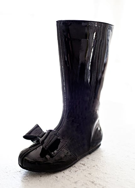 Joyfolie Elery Boot in Black Patent