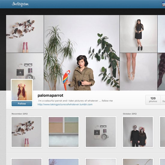 Instagram Takes to the Web