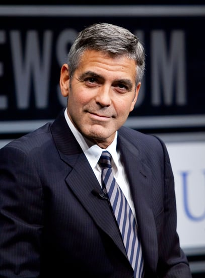 Photos of George Clooney Out and About in NYC