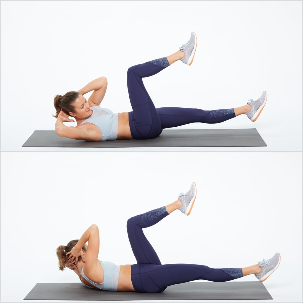 Core Work: Bicycle Crunch
