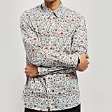 Liberty London Imran Tana Lawn Cotton Long-Sleeved Lasenby Shirt