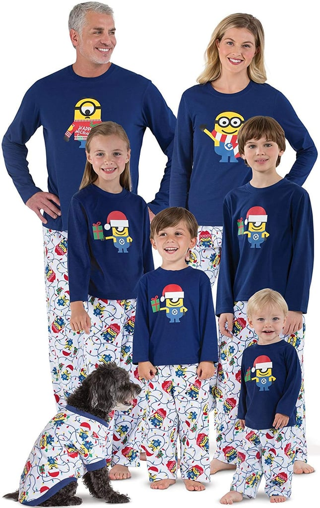 PajamaGram Minion Holiday Matching Pajamas