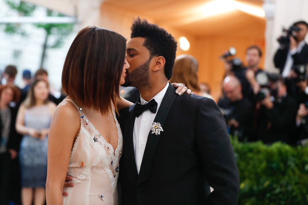Pictured: Selena Gomez and The Weeknd