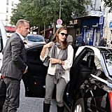 Jennifer Garner Shopping in Paris