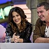 Salma Hayek and Antonio Banderas