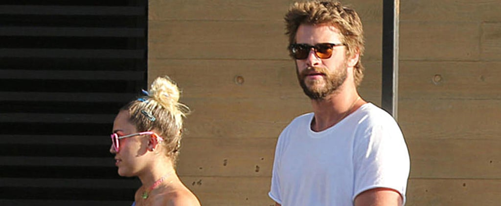 Miley Cyrus and Liam Hemsworth Grab Lunch Amid Reports That They're Getting Married This Fall