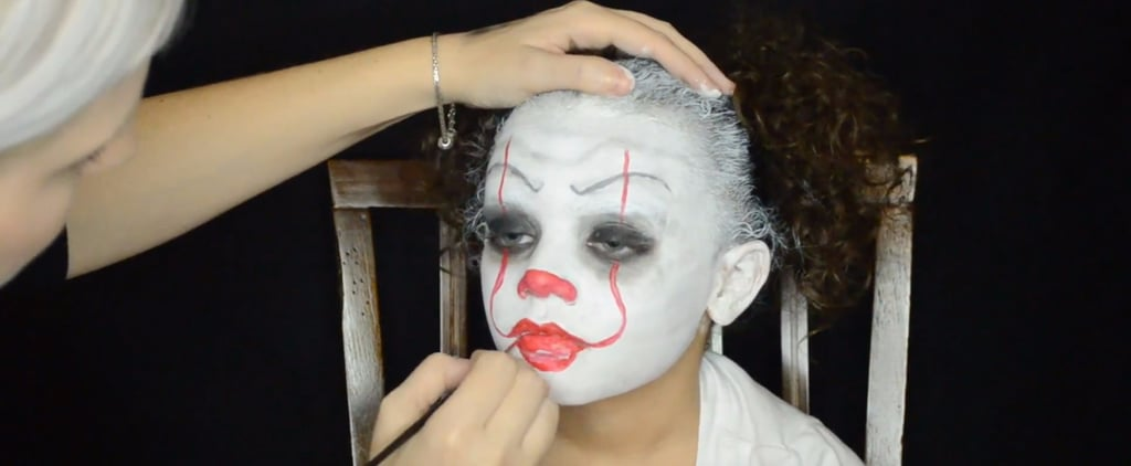 No Costume, No Problem — This Pennywise Makeup Tutorial Will Get Your Kids ALL the Candy
