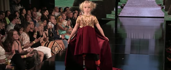 9-Year-Old Double Amputee Walks During New York Fashion Week