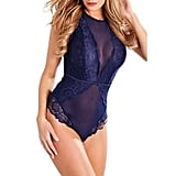 Mainstreet Lounge Sexy Lace and Mesh Lingerie Body Suit