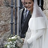 Lady Charlotte Wellesley and Alejandro Santo Domingo The Bride: Lady Charlotte Wellesley, daughter of Duke of Wellington Charles Wellesley of the United Kingdom. The Groom: Alejandro Santo Domingo, a financier. When: May 28, 2016 Where: Íllora, Spain