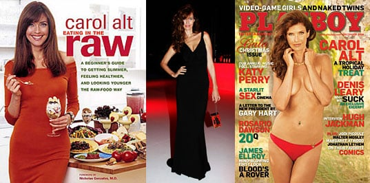 Photo of Carol Alt on the Cover of Playboy, Talking About Her Raw Food Diet