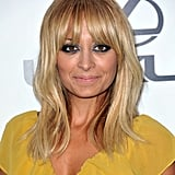 Nicole Richie selected a bold eye for the night's look.