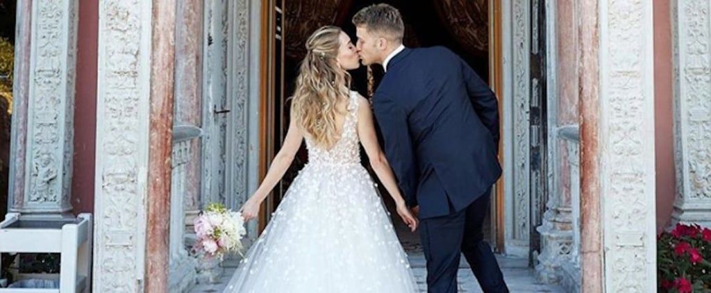 Rachel Crane Oscar de la Renta Wedding Dress