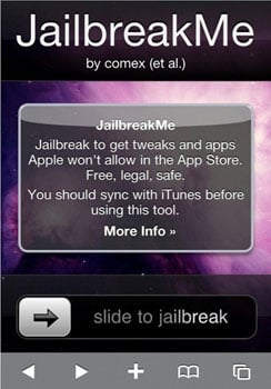 JailbreakMe Not Working For Some