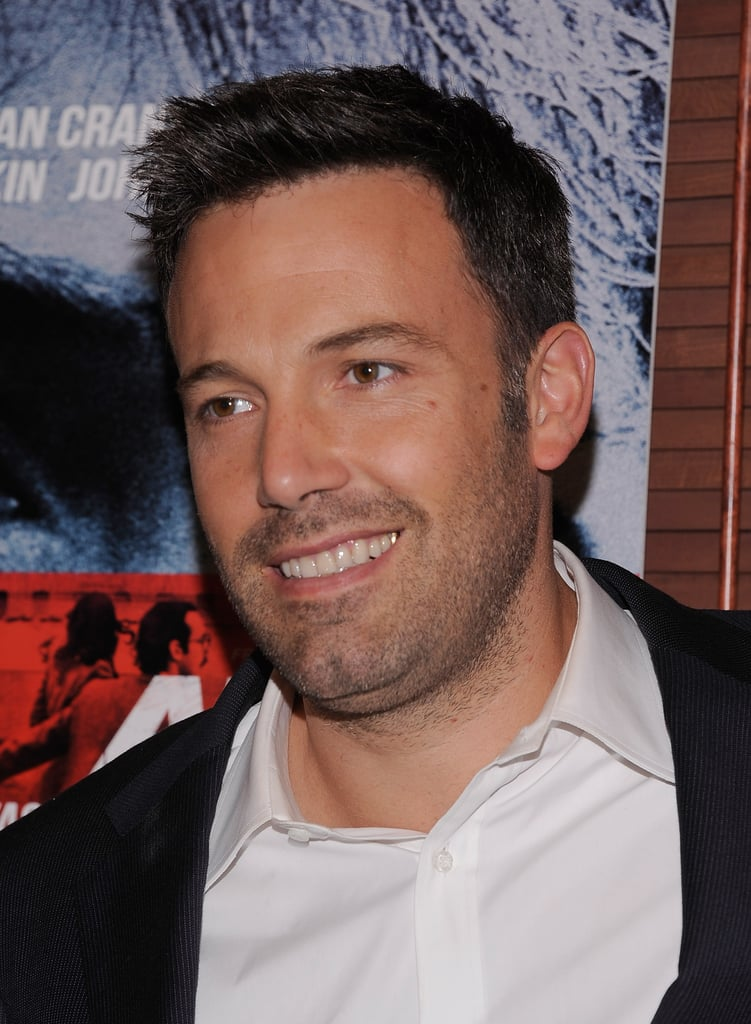 Ben Affleck promoted his new movie Argo in NYC.