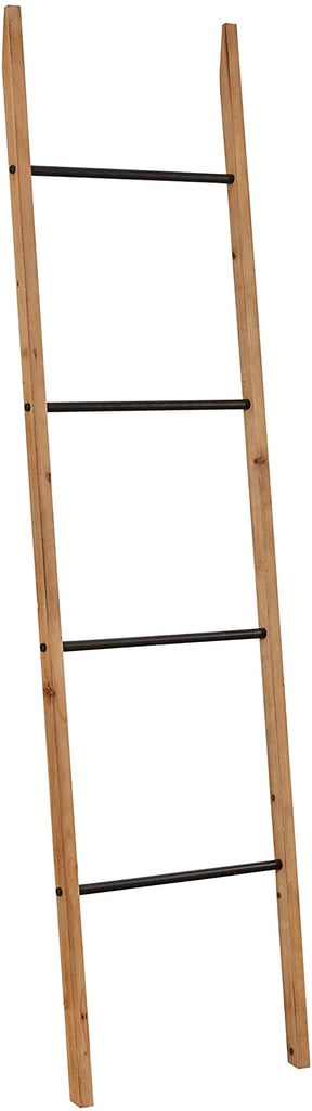 Rivet Contemporary Fir Decorative Blanket Ladder