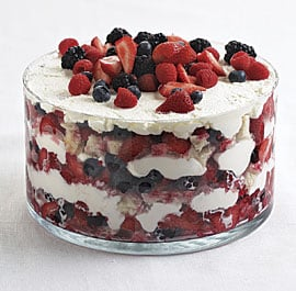 Summer Berry Trifle Recipe