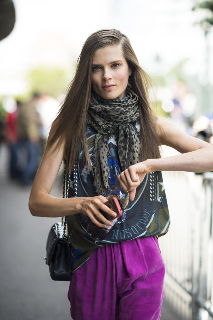 A severe side part adds attitude to any hairstyle. Photo by Le 21ème   Adam Katz Sinding