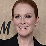 Julianne Moore chose a sleek updo for the event in NYC.