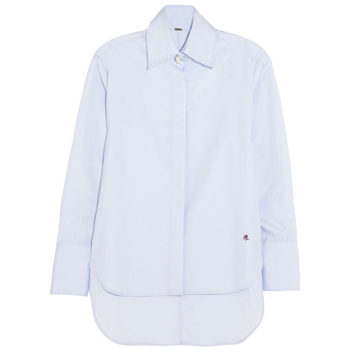 Shop autumn winter 2014 fashion trends online popsugar for Crisp white cotton shirt