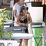 Michelle Williams took daughter Matilda Ledger out for ice-cream in Los Angeles on August 28.