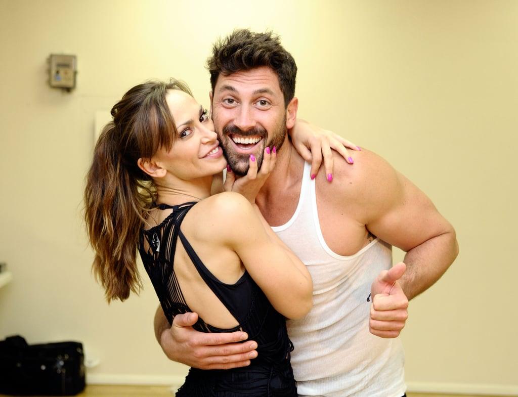 Maksim Chmerkovskiy and Karina Smirnoff