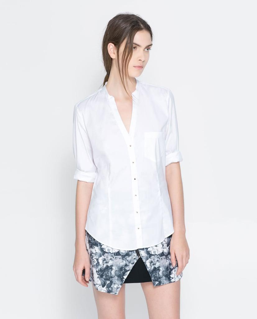 V-Neck Zara Shirt ($30, originally $40)