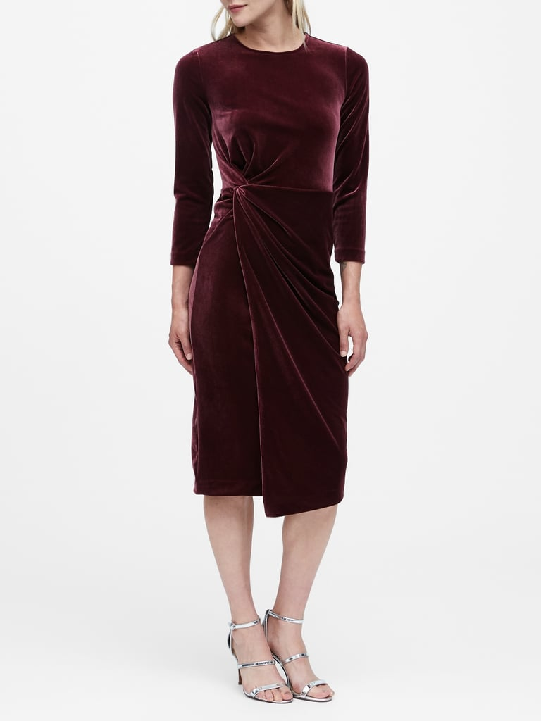Velvet Twisted Dress